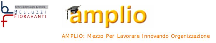 Logo of AMPLIO: Mezzo Per Lavorare Innovando Organizzazione