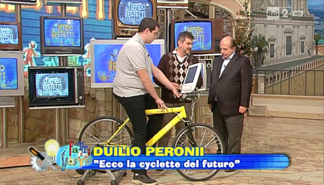 La Belluzzi Gooble Bike su RAI2
